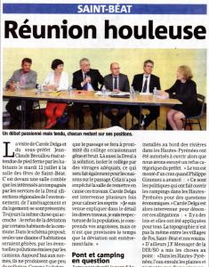 La Gazette - 2016_07_20 - Réunion houleuse