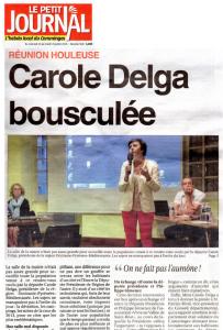 Le Petit Journal - 2016_07_20 - Carole Delga bousculée