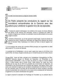 Image rapport De Pedro version français