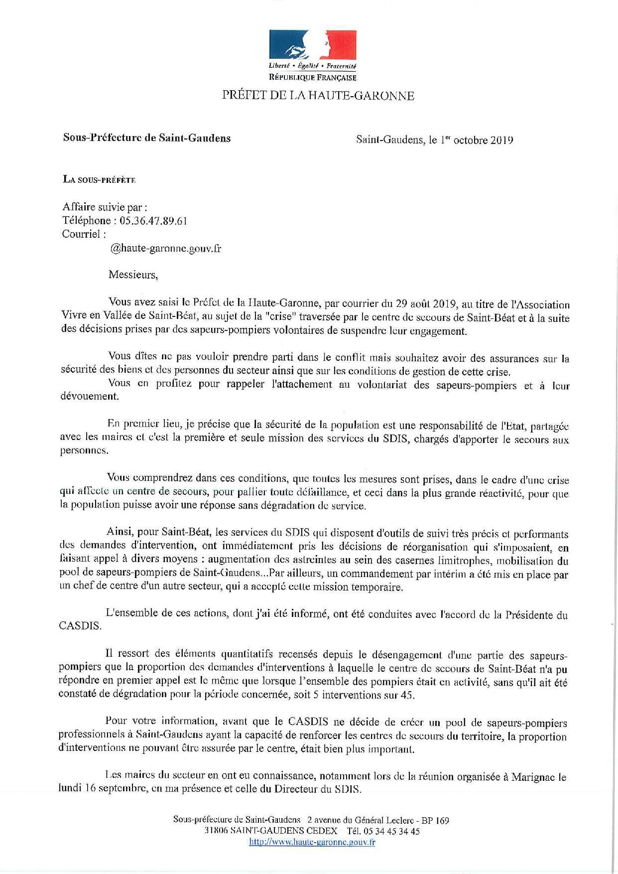 Services Publics Vivre En Vallée De Saint Béat